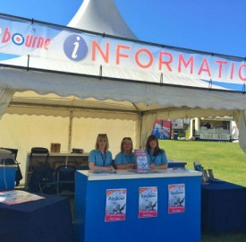 eastbourne airbourne weekend information tent buy a programme for the weekend