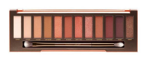 the new urban decay naked palette fire
